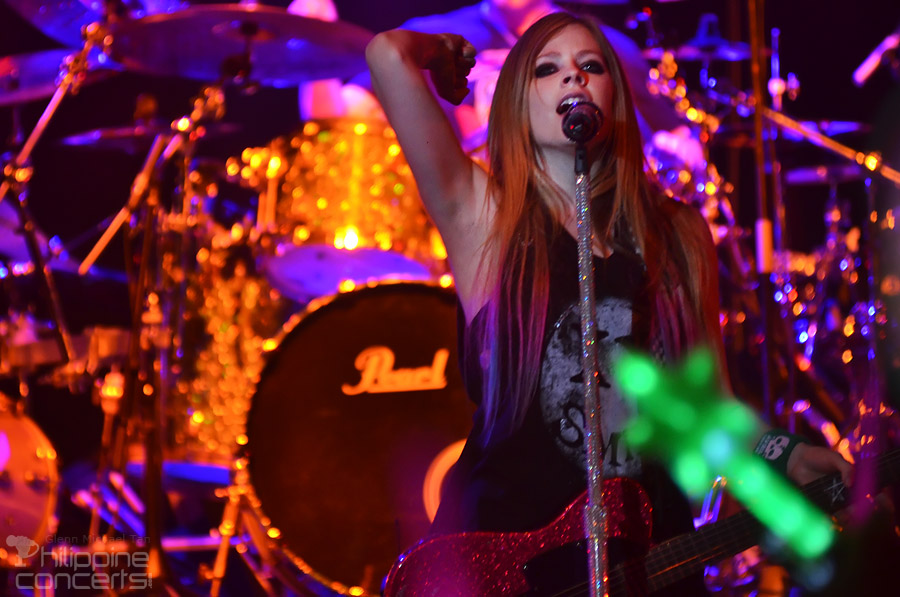 Avril Lavigne Live in Manila Concert Photos