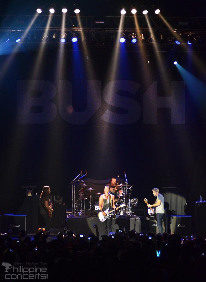 Bush Live in Manila