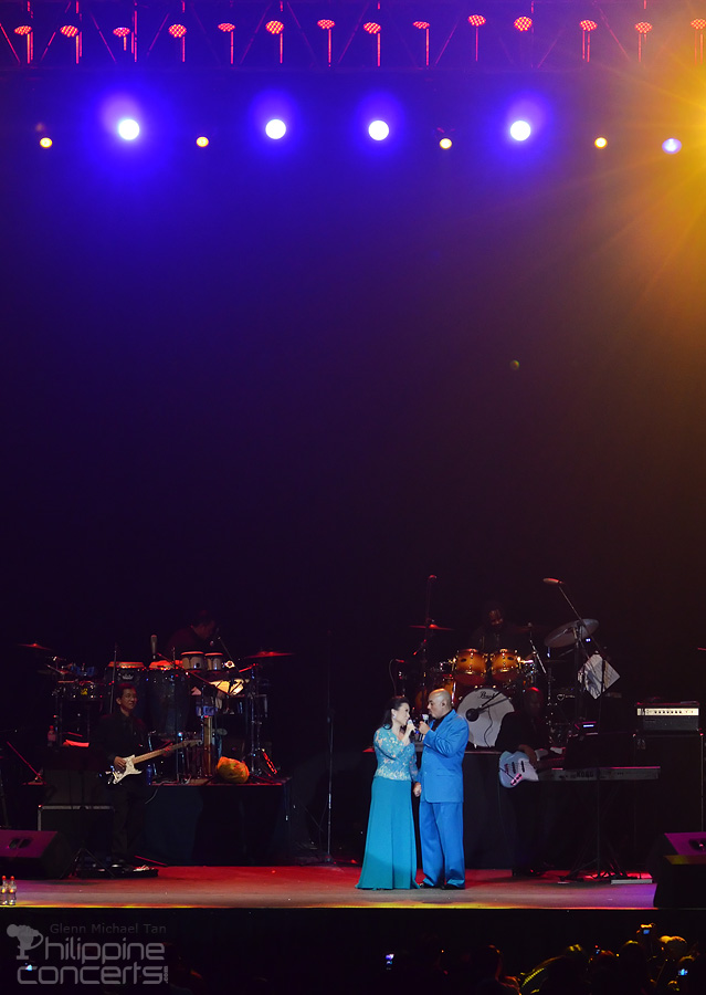 James Ingram and Lea Salonga