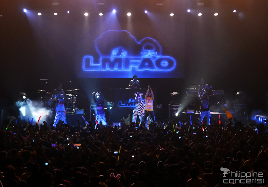 LMFAO Concert Photos