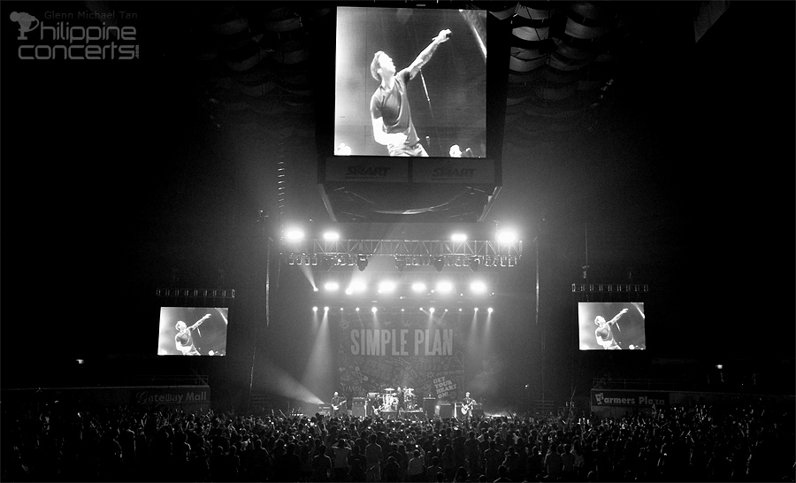 Simple Plan Live in Manila 2012