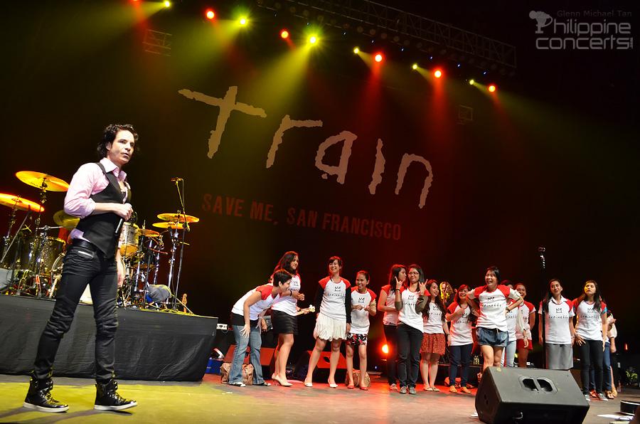 Train Live in Manila 2011