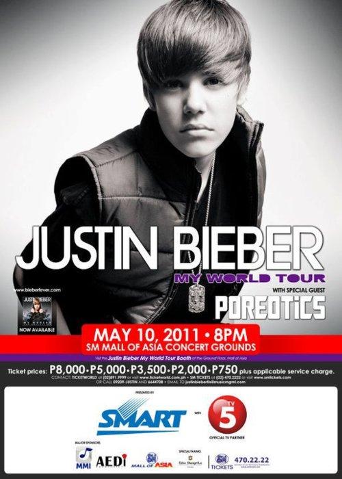 justin bieber in concert 2011 in us. Justin Bieber Live in Manila
