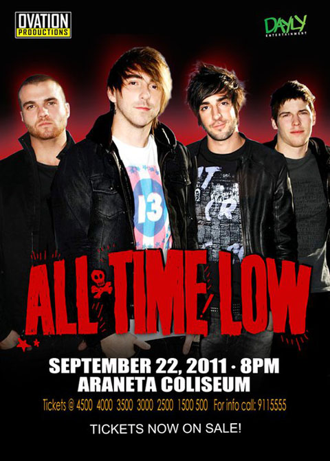 All Time Low Live in Manila on Sept 22