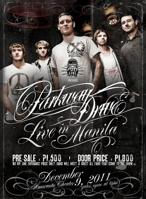Parkway Drive Live in Manila