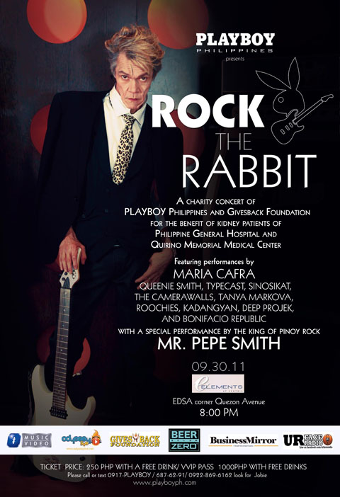 Rock the Rabbit Charity Concert