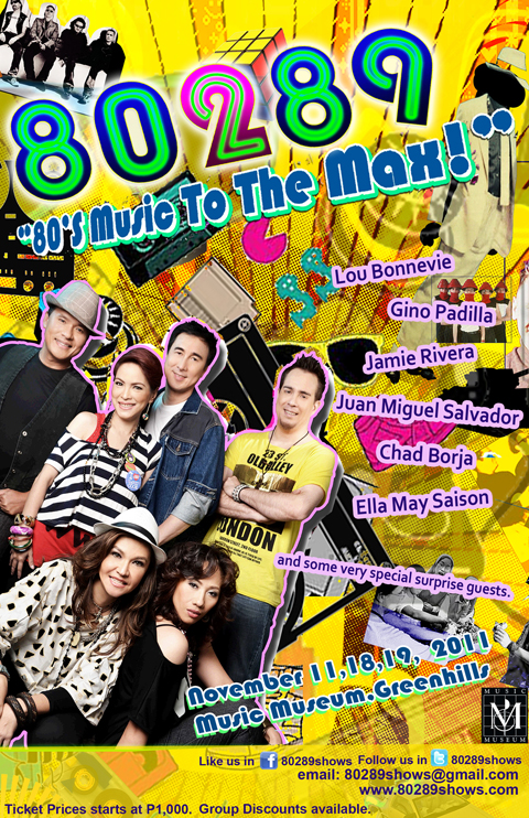 80289 Concert – 80's Music to the Max!