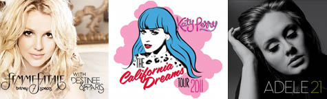 Survey: Which of the following concerts would you like to see live in Manila next year?