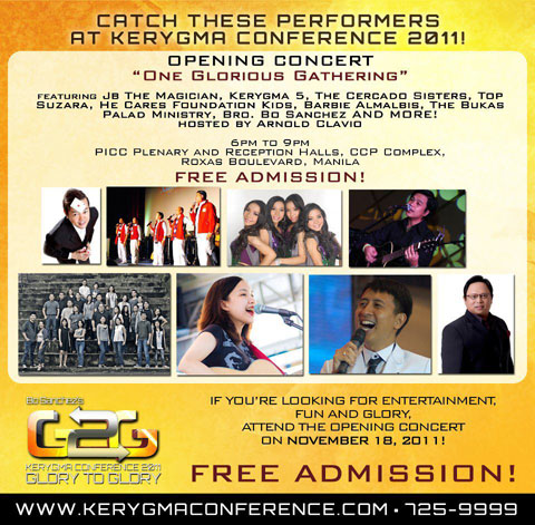 Kerygma Conference 2011 Free Concert