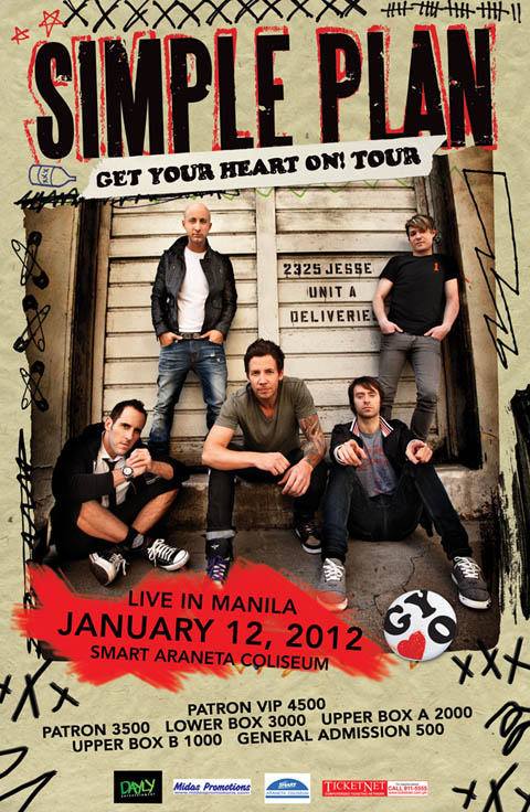 Simple Plan Poster images