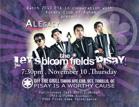 Alegacy: The Bloomfields Pisay Concert