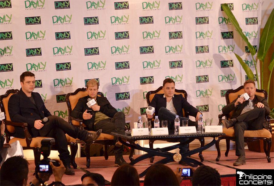 Westlife Press Conference