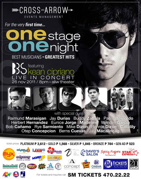 One Stage, One Night BBS Featuring Kean Cipriano