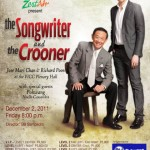 The Songwriter & The Crooner