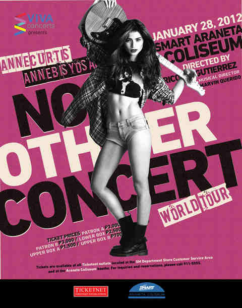 No Other Concert World Tour. First Major Concert of Anne Curtis