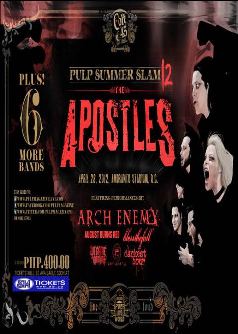 Pulp Summer Slam 12: The Apostles