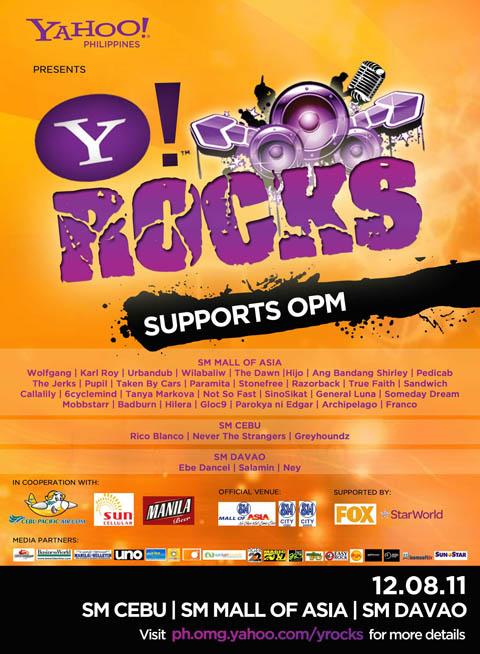 Y! Rocks Concert