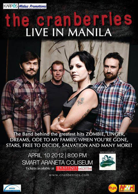 The Cranberries Live in Manila