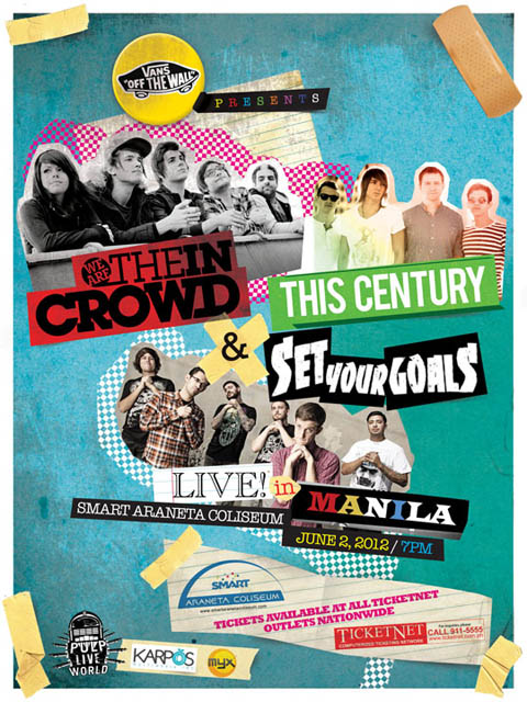 This Century, Set Your Goals and We are the In Crowd Live in Manila