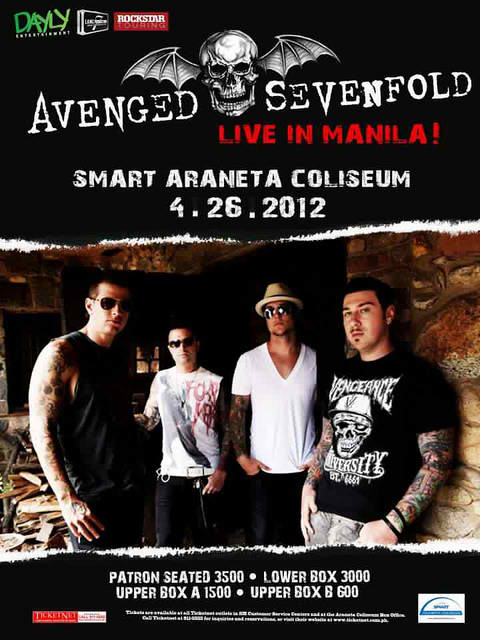 Avenged Sevenfold Live in Manila