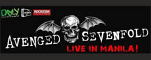 Avenged Sevenfold Live in Manila 2012