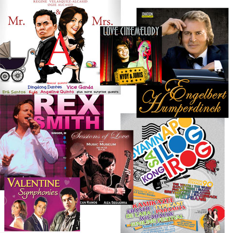 Concerts to watch on Valentine's Day 2012