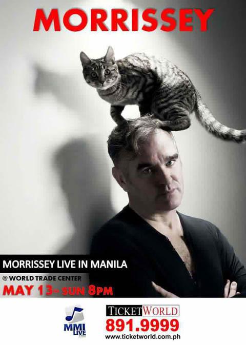Morrissey Live in Manila