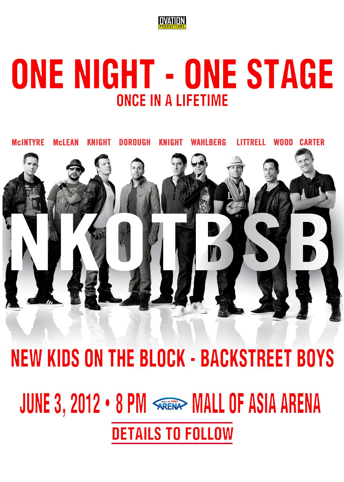 New Kids On The Block & BackStreet Boys NKOTBSB Live in Manila 2012
