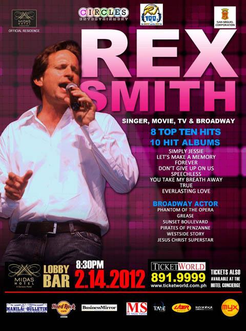 Rex Smith Valentine's Concert 2012