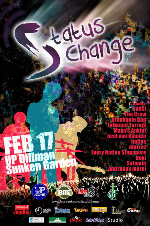 UP Fair 2012 Status Change on February 17