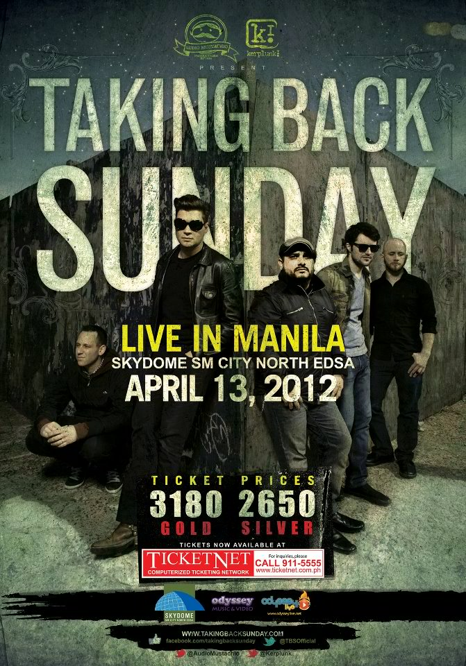 Taking Back Sunday Live in Manila
