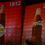 100 years of Coca-Cola presented using the Biggest Projection Screen