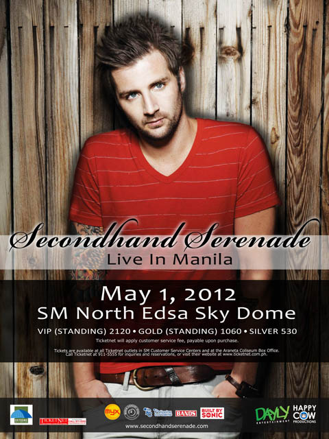 Secondhand Serenade Live in Manila