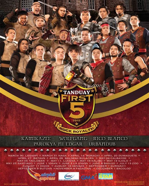 Tanduay First Five 2012