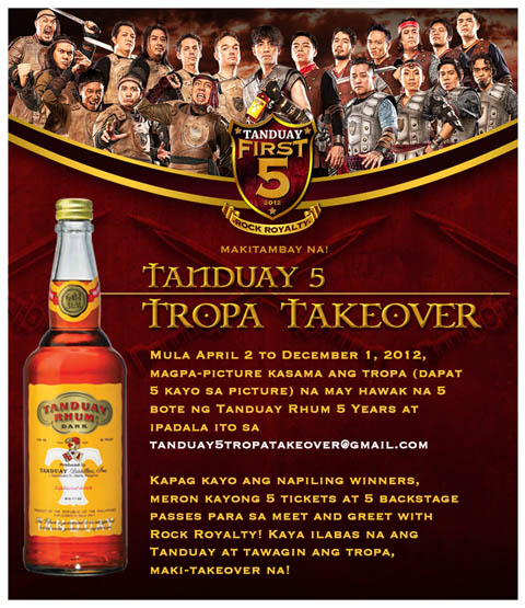 tanduay-first-five-tropa-takeover-promo