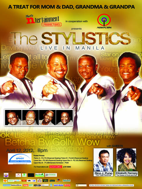 The Stylistics Live in Manila