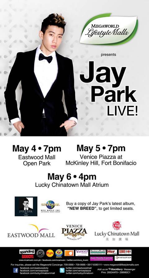 Jay Park Live in Manila