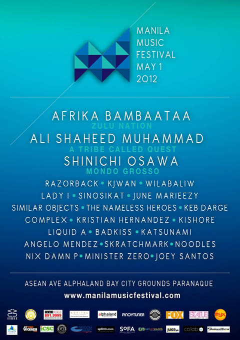 Manila Music Festival 2012