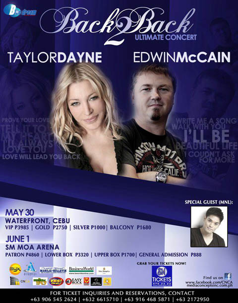 Taylor Dayne and Edwin McCain Back to Back Ultimate Concert