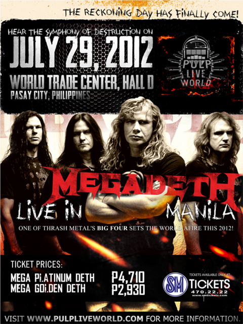 Megadeth Live in Manila