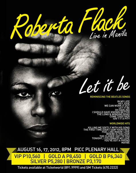 Roberta Flack Live in Manila