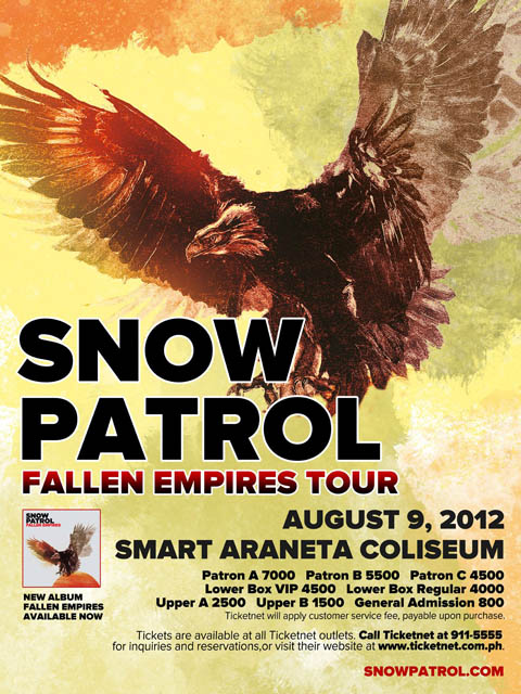 Snow Patrol Live in Manila