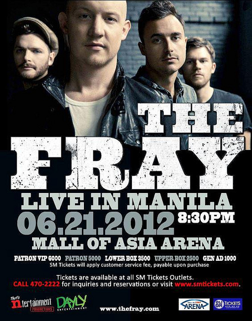 The Fray Live in Manila