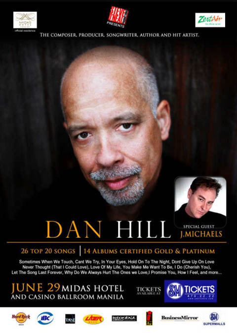 Dan Hill Live at Midas Hotel