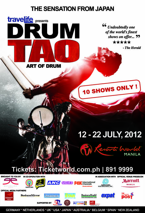 drum-tao-art-of-drum-resorts-world-2012