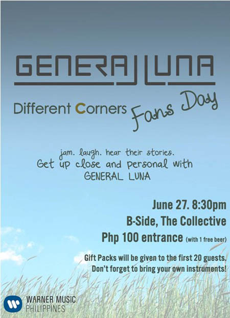 General Luna Fans Day