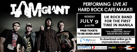 I am Giant live at Hard Rock Cafe