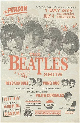 The Beatles Live in Manila 1966