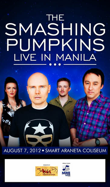The Smashing Pumpkins Live in Manila 2012