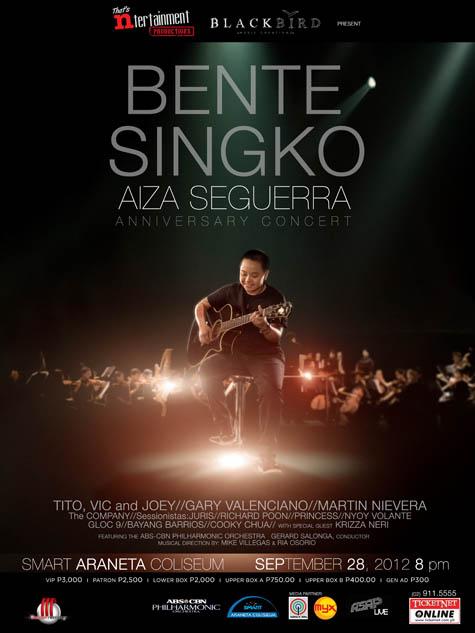 Bente Singko Aiza Seguerra Anniversary Concert